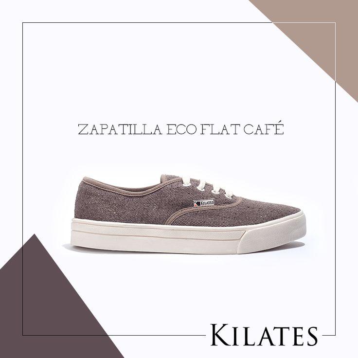 Zapatilla Eco Flat Café