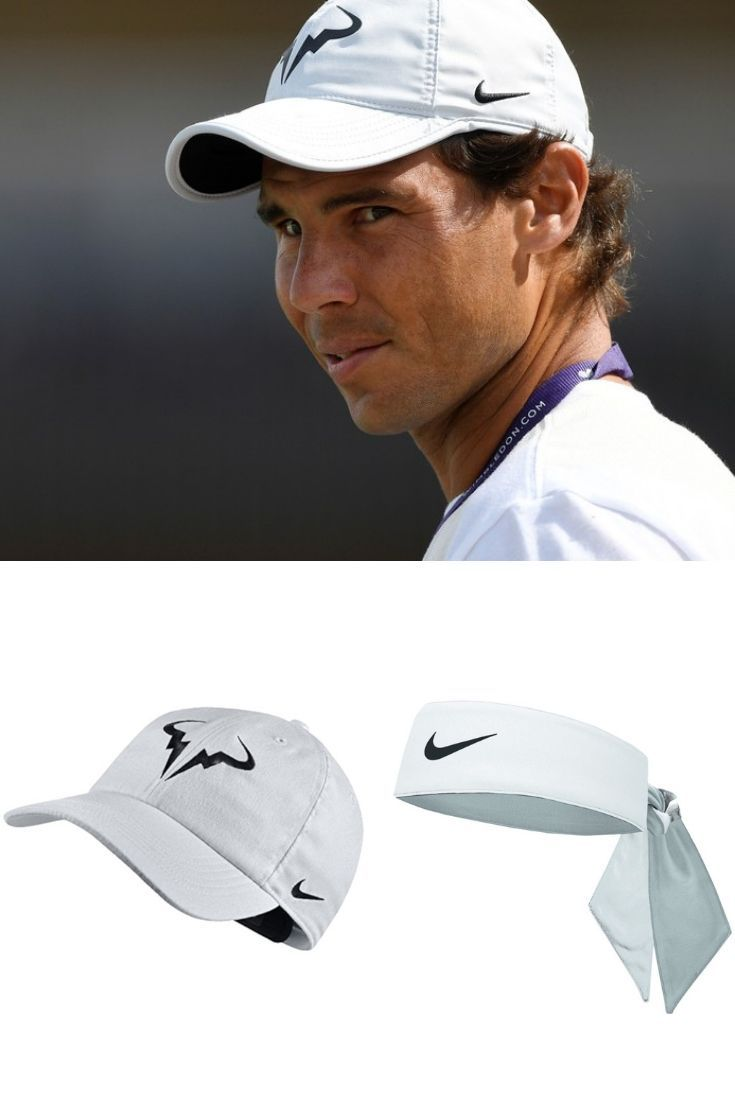 Dress Up Your Look With Rafael Nadal Nike Cooling Head Tie And Nike Rafa Tennis Hat Only Here At Geardd Wimble Rafael Nadal Wimbledon Rafael Nadal Wimbledon