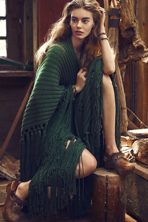 Glean fall inspiration from the pages of BAZAAR, and step into the season's Aran knits, tweedy coats, and luxe shearlings.