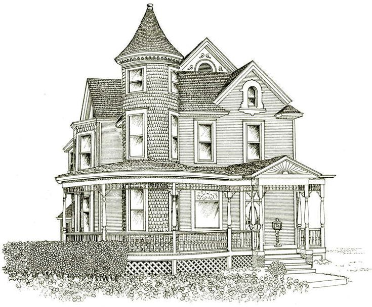 Victorian House Drawings Google Search