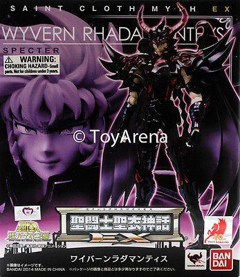 Anime and Manga 158666: Saint Seiya Myth Cloth Ex Wyvern Radamanthys Action Figure Bandai -> BUY IT NOW ONLY: $89.99 on eBay!