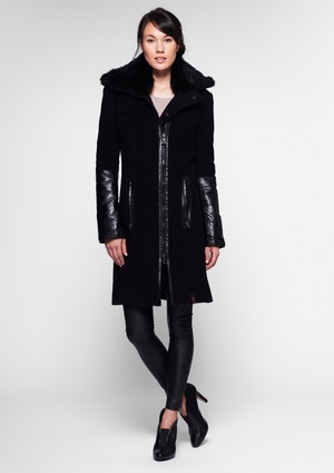 Rudsak Leather and Fur coat - swoon So Glad I bought this !! Absolutely love it ! ♥
