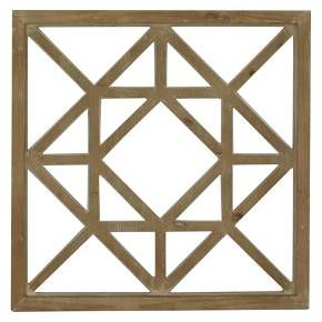 It's time to upgrade that boring home decor! Display this truly lovely Lattice Wood Square in your office, kitchen, bedroom or living room for an instant style upgrade!