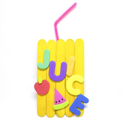 Explore the alphabet with our A to Z Crafts! J is for Juice Box and is perfect for teaching little learners about the alphabet and letter recognition.