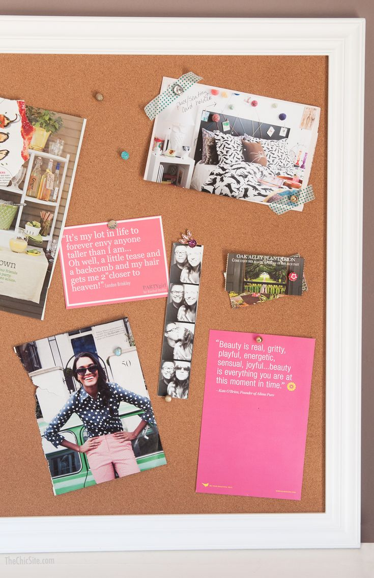 17 best images about organization on pinterest closet for Pretty bulletin board