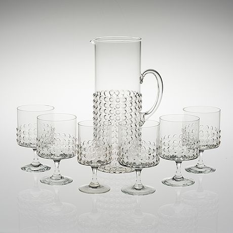 Grappo glasses designed by Nanny Still