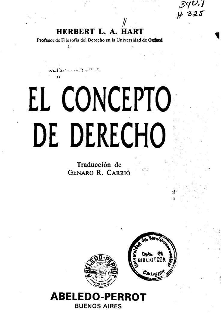 28490884-El-Concepto-de-Derecho-Herbert-Hart | Christian Gc - Academia.edu