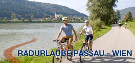 Donaureisen - individuelle Radreisen, Radtouren Donauradweg, Fahrradreisen, Radurlaube und Schiffausflüge