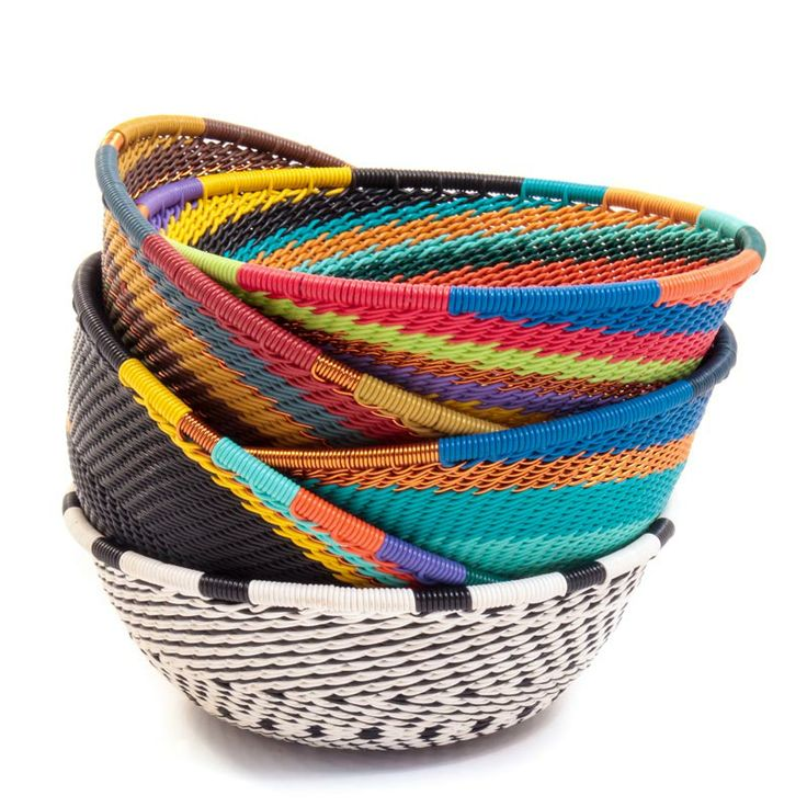 Baskets Of Africa Offers Over 750 Different Permutations Of Color And  Shape, And On Top Of That, Patterns Differ As Well.
