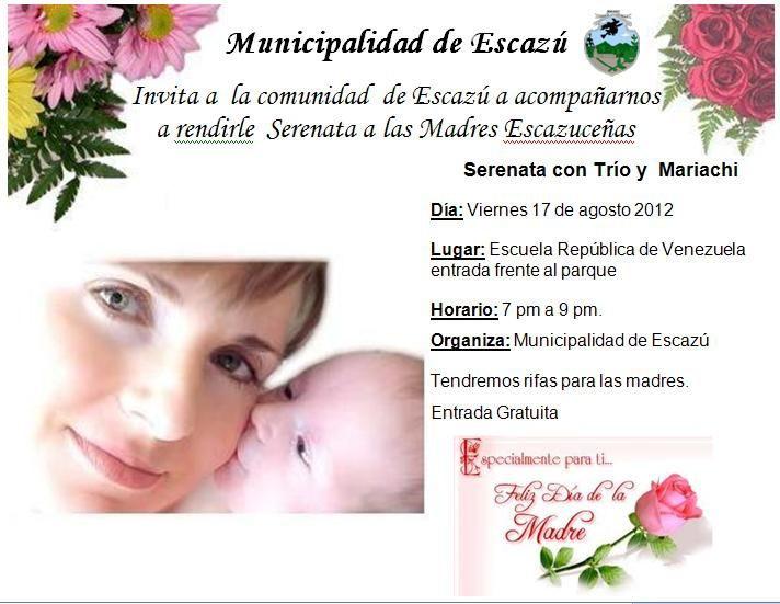 Tarjetas De Invitación Dia De La Madre Imagui Tarjetas