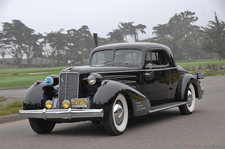 1937 Cadillac Series 90 V-16 Fleetwood 2-Passenger Coupe
