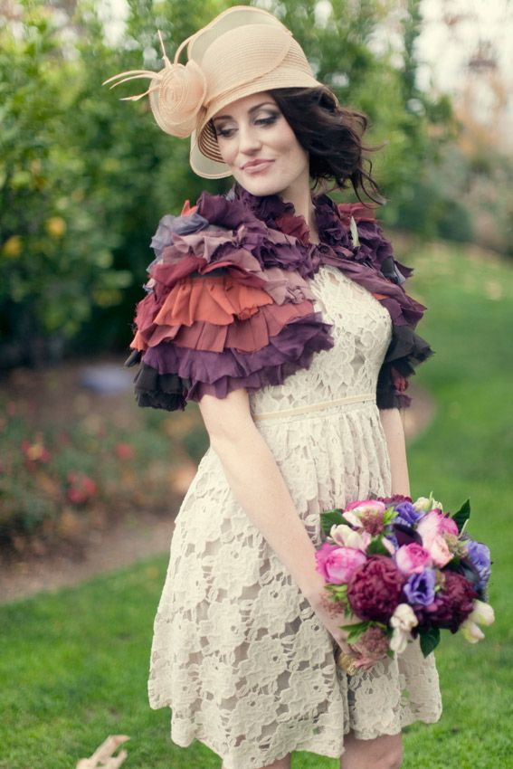 drop the hat, make the boquet solid and then we're talkin..fun colors