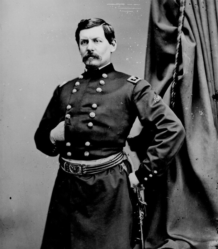 mcclellan single men The subsequent battle of antietam was the bloodiest single day of  mcclellan stopped and waited for more men  make the mcclellan mistake of.