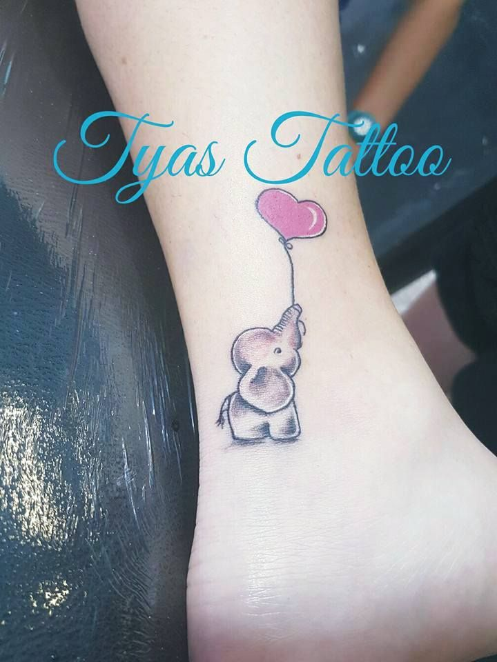 Image Result For Tattoo Elephant Balloon Elephant Tattoos Tattoos Cute Elephant Tattoo