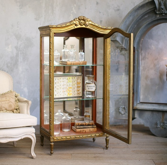 Vintage Shabby Chic Gilt Vitrine Mirrored Rope Detail. Antique French  FurnitureClassic FurnitureLuxury FurnitureThe FrenchFrench CountryFrench ... - 101 Best Antique French Furniture Images On Pinterest French Style