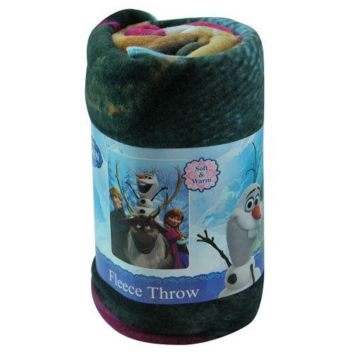 Disney Frozen Fleece Throw Blanket