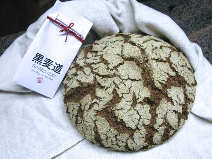 Step 10: Raimugido - my sourdough rye bread and Raimugido Rye Mother Starter.