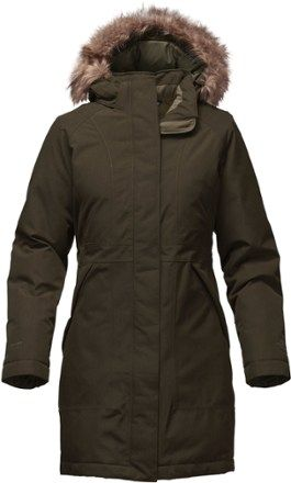 Rosin Green Heather- great warm coat. better price at other site http://www.bonanza.com/listings/The-North-Face-Arctic-Down-Parka-Women-s-Rosin-Green-Heather/379871031 BUT....this looks warm. great color.