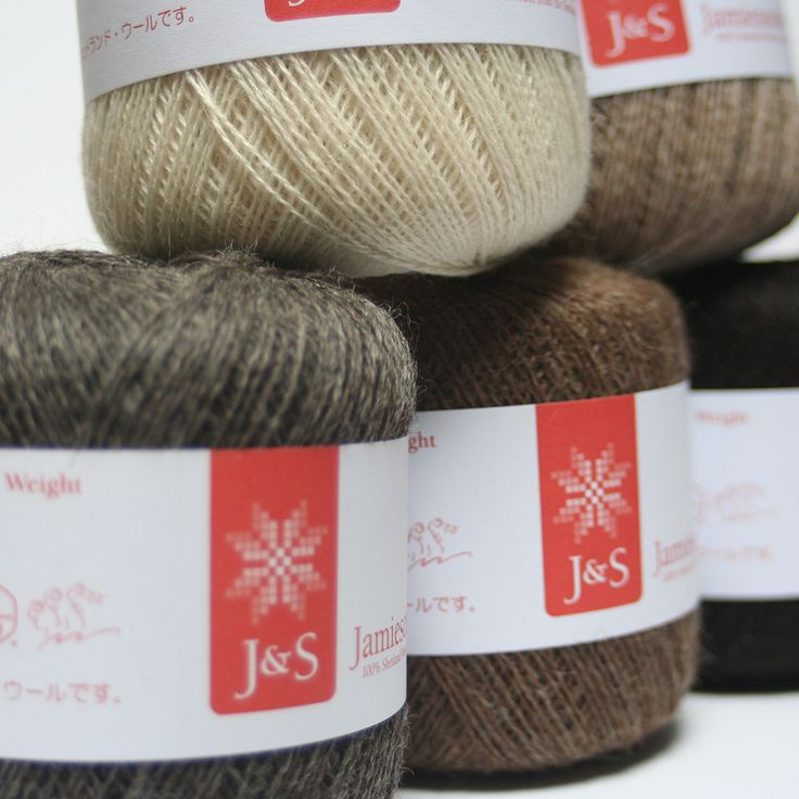 This yarn was developed with Shetland Museum and Archives as part of the Shetland Fine Lace Project. The yarn is worsted spun from the natur...