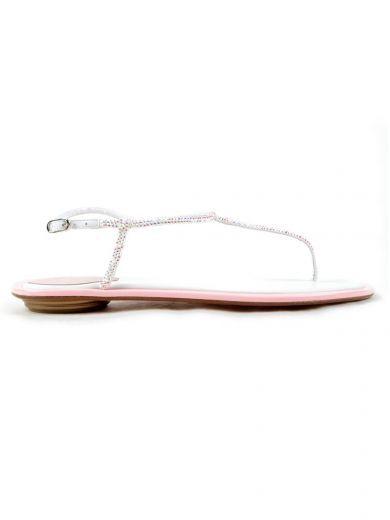 RENÉ CAOVILLA Rene Caovilla Thong. #renécaovilla #shoes #rene-caovilla-thong