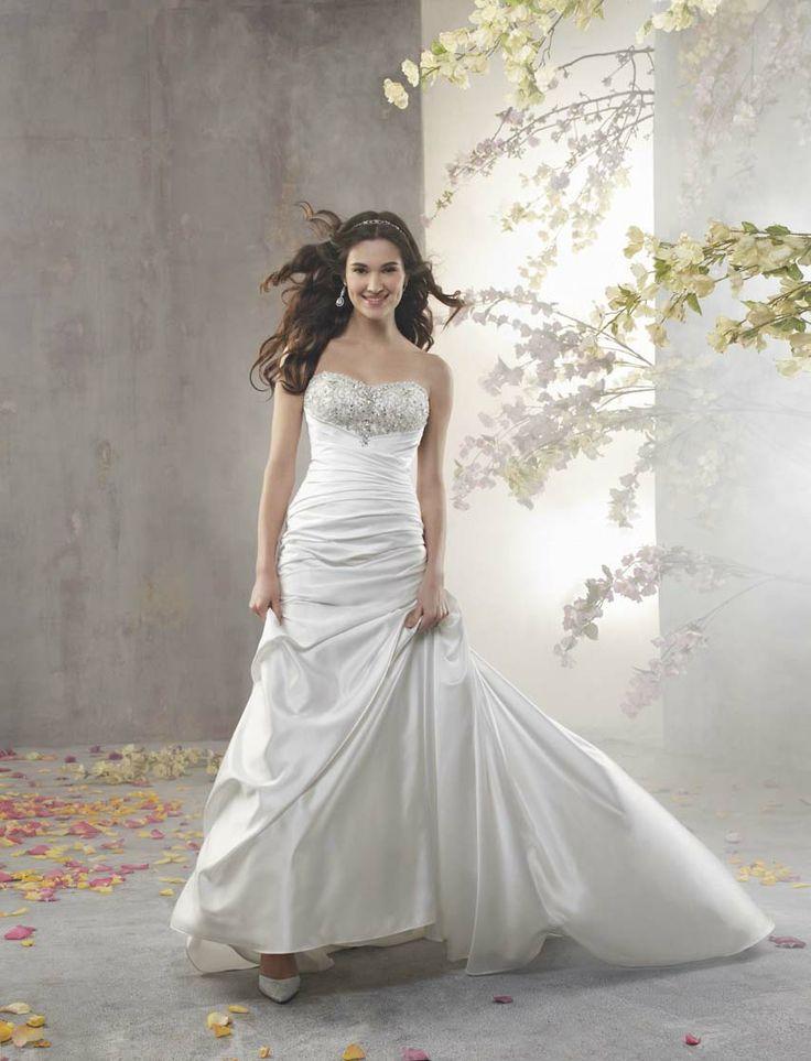 19 besten Wedding Dresses!!! Bilder auf Pinterest | Hochzeitskleider ...