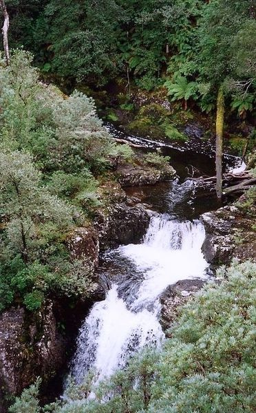 Upper reaches of the Gloucester River, at Gloucester Falls, within Barrington Tops National Park, New South Wales, Australia