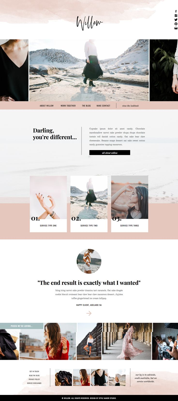 - 249cb756f81cb6b75dfd4796c35807f3 - Fashion Website Template for Showit Platform