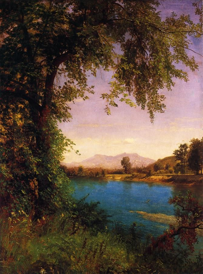 South and North Moat Mountains, 1862 ...Albert Bierstadt