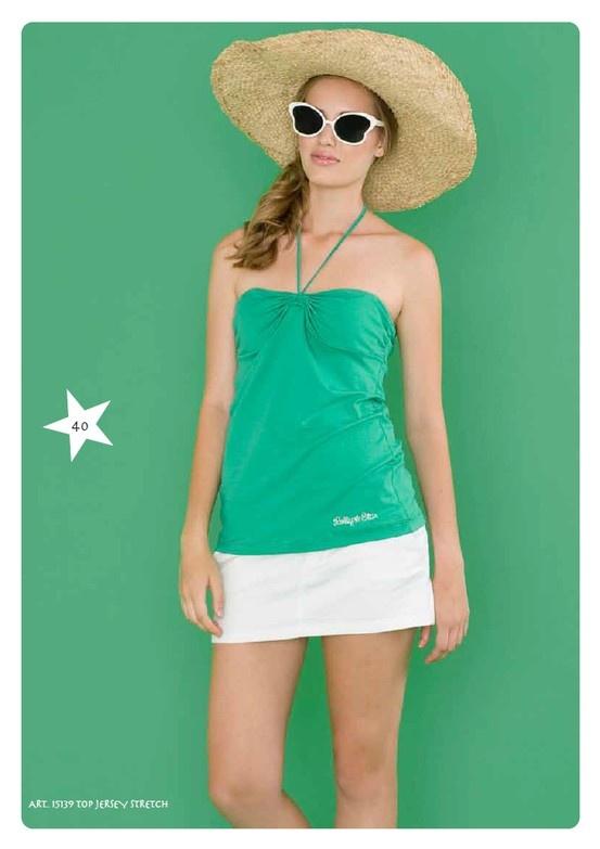#Top Jersey Stretch #LollyStar - #SpringSummer