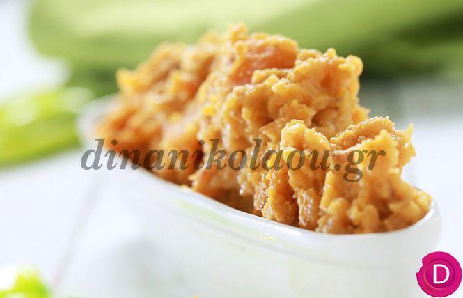 Πουρές γλυκοπατάτας με μουστάρδα | Dina Nikolaou