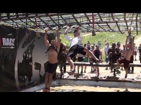 6-1-14 Spartan Race at Tuxedo NY - Cargo net - Team Ilene 6 - YouTube