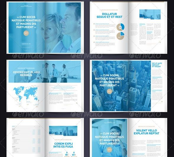 Best 16 indesign template ideas images on pinterest for Multi page brochure template