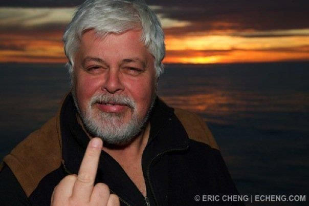 fuck the whalers! paul watson