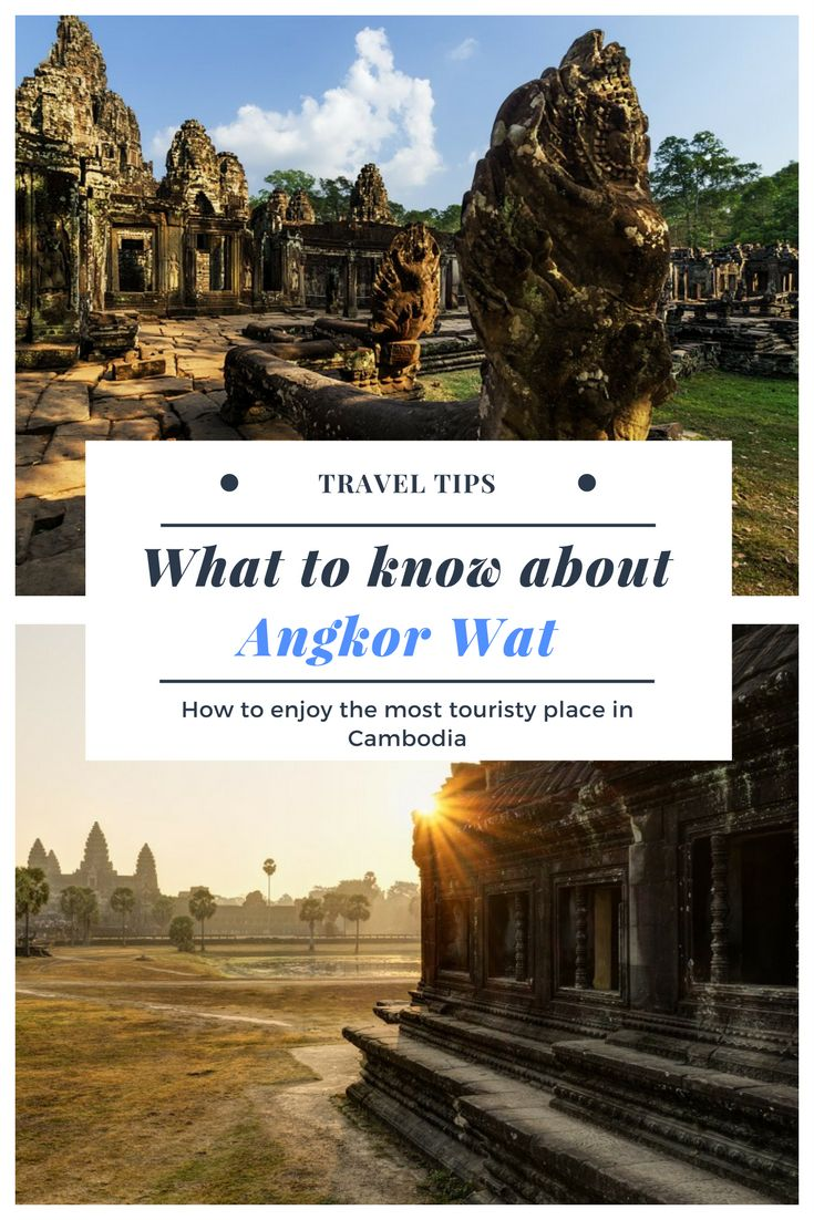 Angkor Wat in Cambodia is very touristy and definitely, it is the most visited attraction in Cambodia. Still, you can enjoy Angkor way without hunters visitors a make a DIY private tour. Angkor Wat is a dream destination for many travelers. There are many things you should know - the history of Angkor Wat, what temples you should visit, how to arrange a tour, and more.