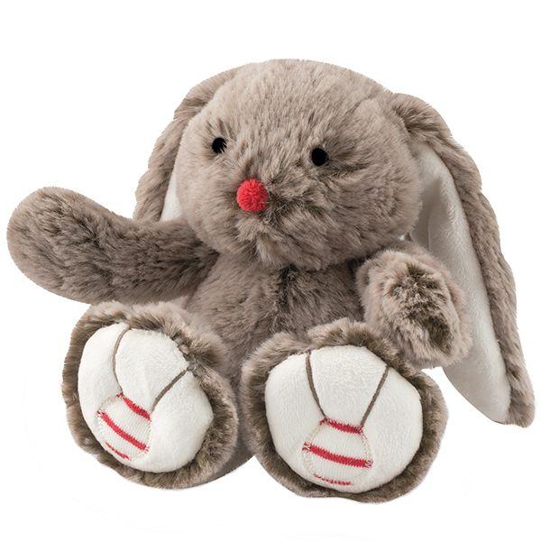 Rouge pequeño conejo marrón 19cm