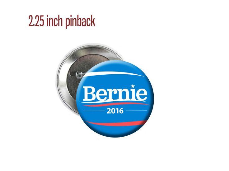 Bernie Sanders: Bernie Sanders 2016 Democratic Candidate Feel The Bern 2.25 Pinback Button -> BUY IT NOW ONLY: $5.0 on eBay!