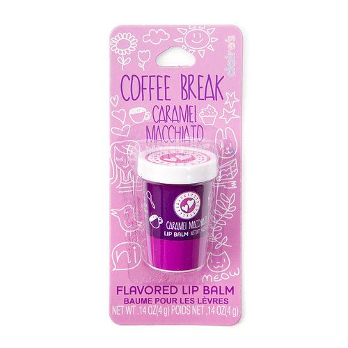 Coffee Break Caramel Macchiato Flavored Lip Balm | Claire's