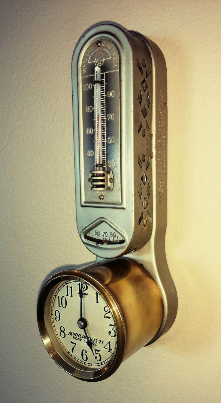 1924 Minneapolis Honeywell thermostat Antiques