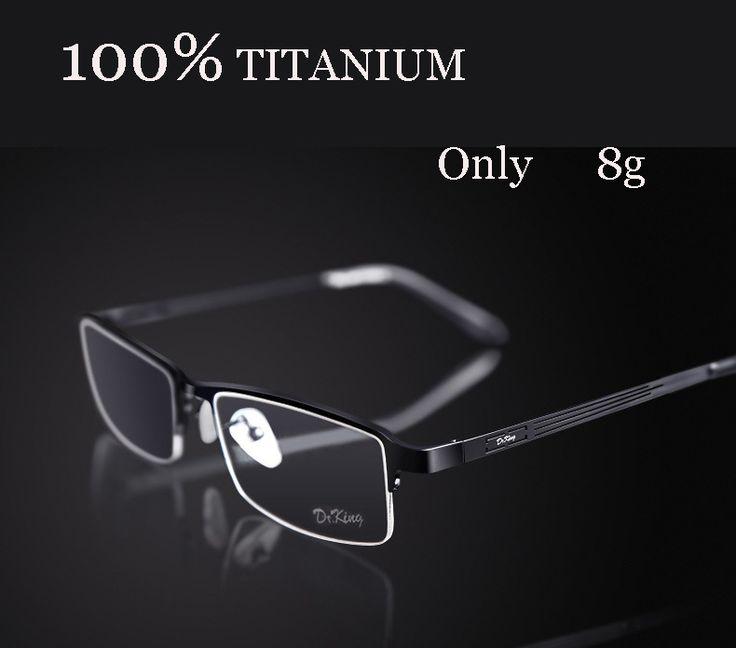 Titanium eyeglasses marcos de lentes opticos fashion brand designer eyeglasses frame prescription glasses online oculos de grau