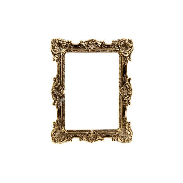 Royalty-free stock Image | Antique photo frame | iStockphoto.com ❤ liked on Polyvore
