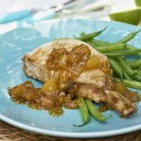 Côtelettes de porc à l'ananas et au gingembre sur Wikibouffe
