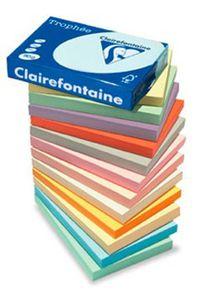 ramette papier couleur pastel A4 210gr clairefontaine