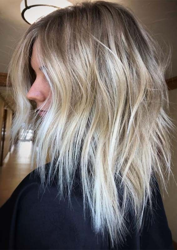 Awesome Texture Balayage Highlights to Follow in Current Year