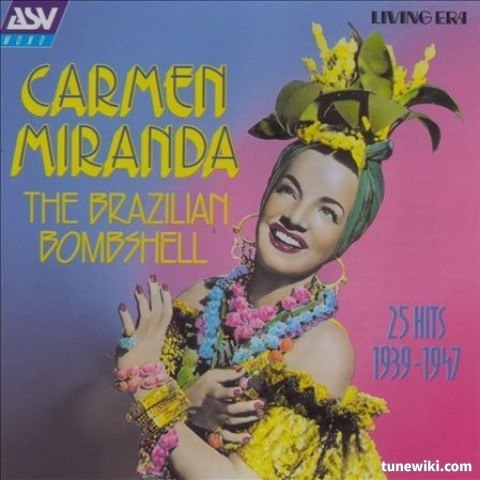 "-- #LyricArt for ""Mama Eu Quero"" by Carmen Miranda"