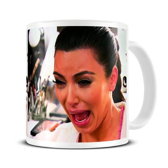 Kim Kardashian Crying Coffee Mug