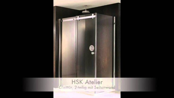 """Ein Video über die Serie """"Atelier"""" von HSK. Über verschieden Modelle wie z.B.: Nischendusche, Eckduschen, Fünfeckduschen, Walk-In Duschen, Eckeinstieg Duschen, Duschkabinen Tür + Seitenwand. Mehr zur HSK Serie Atelier: http://www.profi-badshop.de/catalogsearch/result/?cat=0&q=HSK+Atelier"""