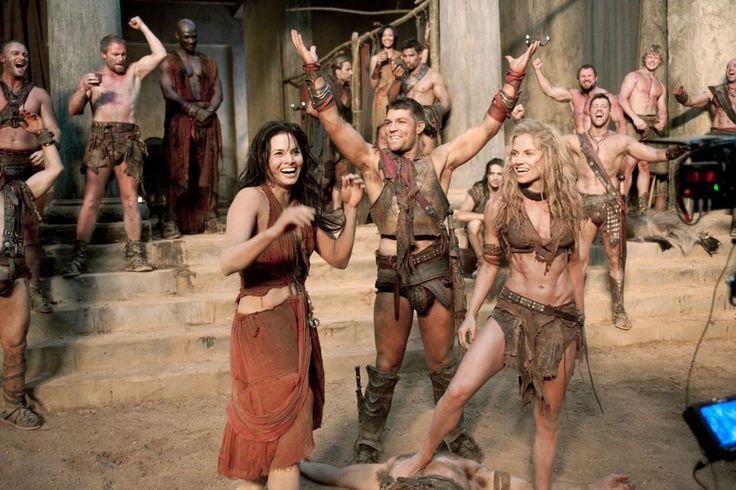 ABS! Beautiful Saxa. | Spartacus
