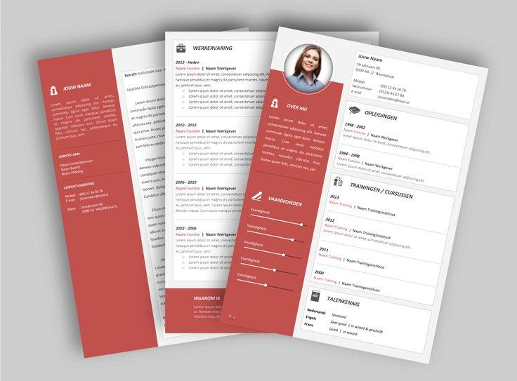CV template 2032. Laat de lay-out van je CV pimpen en eventueel de tekst optimaliseren. www.mooicv.nl