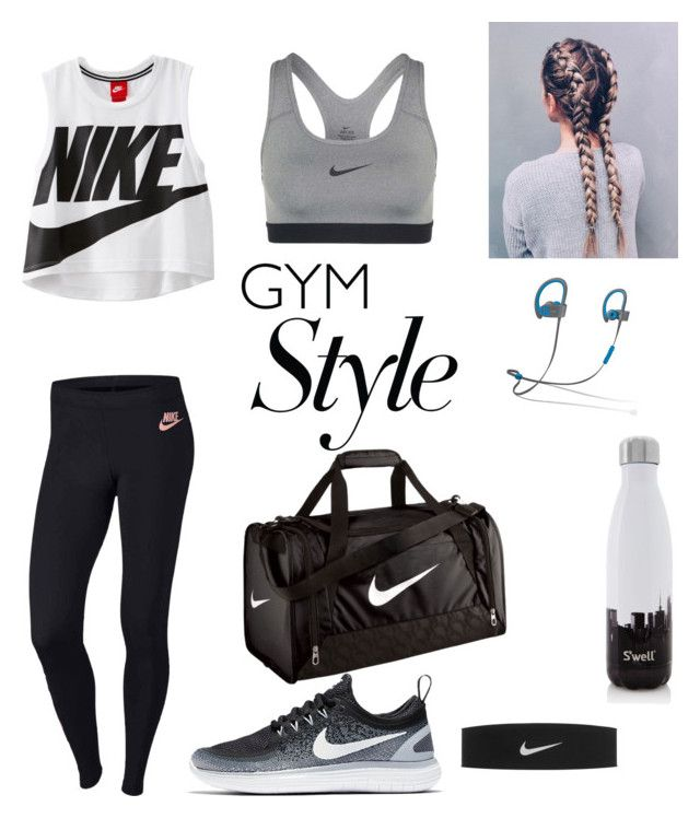 """""""Gym"""" by londonkat on Polyvore featuring NIKE, Beats by Dr. Dre and S'well"""