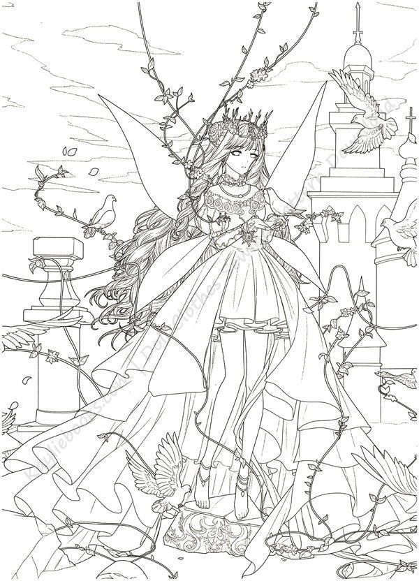 Download Magical Time Traveler Coloring Book Pdf Disney Princess Coloring Pages Fairy Coloring Book Coloring Books